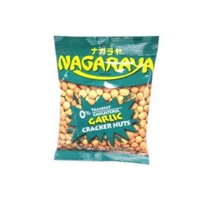 nagaraya cracker nuts (garlic flavor) - 5.6oz [24 units] (731126104166)