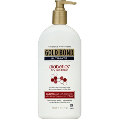 Gold Bond Ultimate Hydrating Lotion, Diabetics Dry Skin Relief 18 oz
