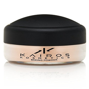 Advanced Shine Control Baking Powder, 75 Oz/21g Light Beige Kaolin by Kairos Kosmetics. Perfect Loose Baking or Cooking Face Powder, Lasting T Zone Oil Absorbing Effect. Fights Fine Lines and Wrinkles