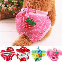 Girl12Queen Female Pet Dog Puppy Diaper Pants Physiological Sanitary Short Panty Nappy Underwear M/L/XL