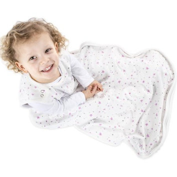 Woolino® 4 Season Toddler Sleep Bag in Lilac Stars