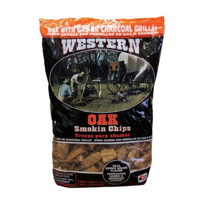 Western Wood Smoking Chips - Oak - 2.25 lbs