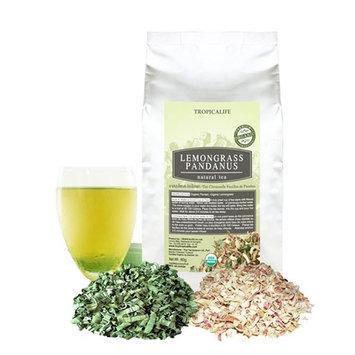 Natural Lemongrass Pandan Tea – 3.5oz Organic Herbal Tea – Tasty, Stress Relief, and Relaxing Pandan Tea – Perfect for Blood Circulation, Heartburn, Stomach... [leaf]