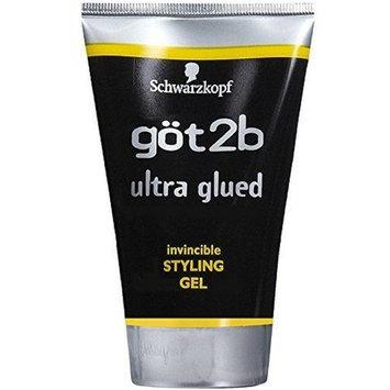 got2b Ultra Glued Invincible Styling Gel Hair Gel 1.25 oz