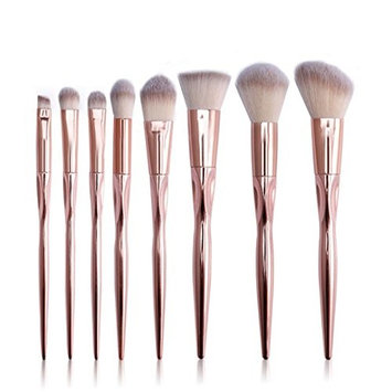 Makeup Brush,SMTSMT 8PCS Foundation Eyebrow Eyeliner Brushes