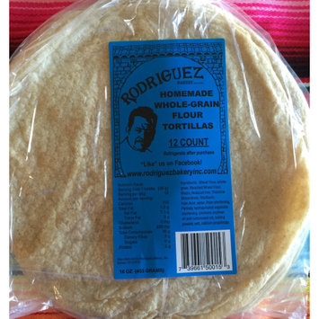 Rodriguez Bakery Inc. Rodriguez Whole Grain Tortillas 8