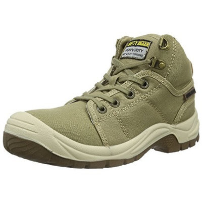 Safety Jogger Unisex Adults' Desert Safety Shoes [Green (11), 7 UK]
