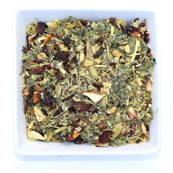 Tealyra - Calm Down - Nirvana - Chamomile Ginger Hibiscus - Wellness and Relaxing Herbal Loose Leaf Tea - Detox Tea - Caffeine-Free - All Natural - 110g (4-ounce)