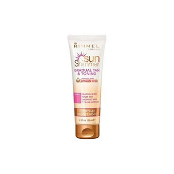 Rimmel Sunshimmer Gradual Tan & Tone Lotion 125ml