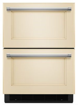 KitchenAid KUDF204EPA 4.7 Cu. Ft. Custom Panel Drawer Refrigerator/Freezer