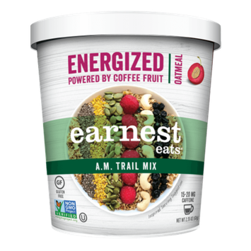 Earnest Eats Energized Hot Cereal A.M. Trail Mix 2.1 oz - Vegan