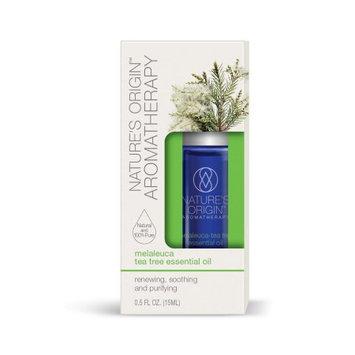Nature's Bounty Nature's Origin Aromatherapy Essential Oil, Melaleuca Tea Tree, 15 ml