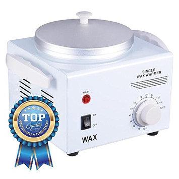 Koval Inc. Deluxe Professional Single Hair Wax Warmer, Electric Wax Heater Machine (White 9