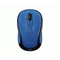 Logitech M325c Small Colorful Wireless Mouse - Deep Blue Bot