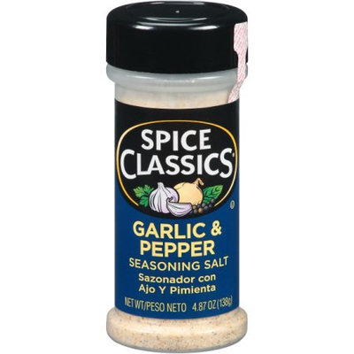 McCormick Spice Classics Garlic & Pepper Seasoning, 4.87 OZ (Pack of 4)