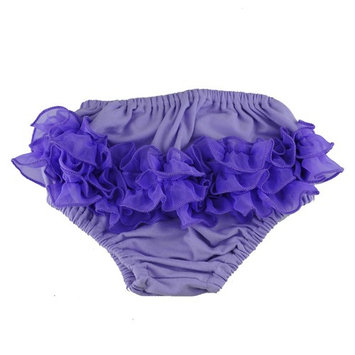 Reflectionz Baby Girls Ruffle Cotton Diaper Cover Bloomers 3-18M