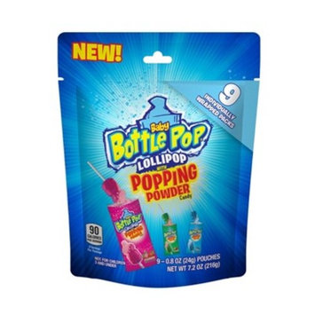 Baby Bottle Pop Lollipop with Popping Candy - 7.2oz
