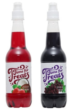 Victorio Kitchen Products Victorio Time for Treats Snow Cone Syrup 2 Pack Bundle Tiger's Blood and Grape