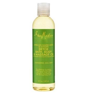 SheaMoisture African Wild Water Mint Massage Oil 8oz