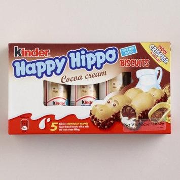 Kinder Happy Hippo Hazelnut Biscuits 3.62 Oz. (Pack of 3)