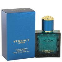Versace Eros by Versace Eau De Toilette Spray 1 oz (Pack of 2)