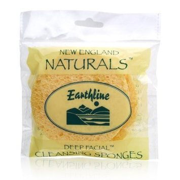 England Nautrals Earthline Deep Facial Cleansing Sponges Model No. 208 - by Earthline