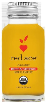 Red Ace Organics Red Ace Organic Beets and Turmeric Liquid, 2 Fl Oz