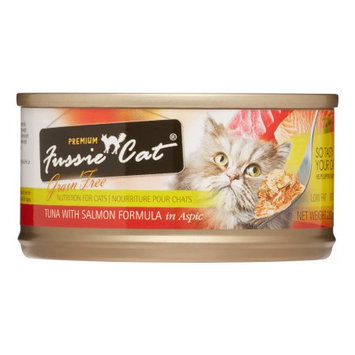 Mojetto Fussie Cat Premium Tuna with Salmon Canned Cat Food - 24x2.8oz