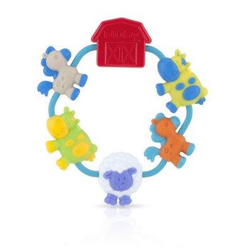 Luv N' Care, Ltd. Nuby Teething Ring with Farm Animals
