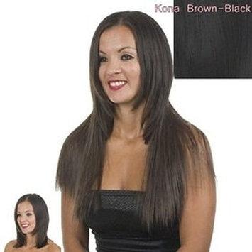 "Clip In Hair Extensions | 21"" Straight | Kona | Black"