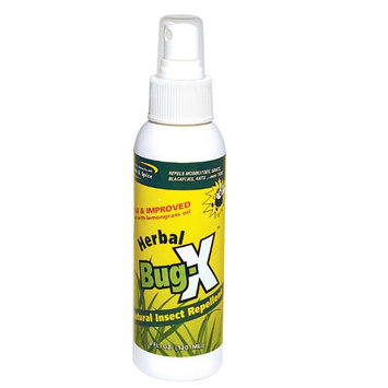 North American Herb & Spice Herbal Bug-X Natural Insect Repellent Spray - 4 Ounce 130