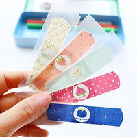 Water Resistant Breathable Bandages Cute Cartoon Band Aid Hemostasis Adhesive First Aid for Kids Children 50 pc