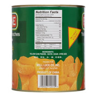 Fortune, Yellow Cling Peaches Sliced, 106 Oz