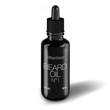 ZilberHaar Beard Oil #1 - Pure, Organic Morrocan Argan and Jojoba Oil for Natural Beard Growth and Hydration - 1 oz - Free Beard Comb Gift