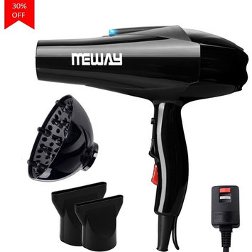 MEWAY 1875W Professional Hair Dryer Household Constant Temperature Fast Drying Ionic Repair Hair Care Blow Dryer