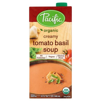 Pacific Foods Of Oregon, Inc. Pacific Foods, Soup Vgn Tomato Basil Org, 32 Oz (Pack Of 12)