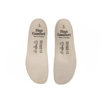 Finn Comfort Women's Women's Soft Comfort Footbeds #8545 for Classic Wedge Soft Non-Perforated Wed