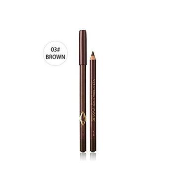 Eyeliner Pencil 12PCS Waterproof Eyebrow Pen Pencil Eye Brow With Brush Makeup Cosmetic Tool