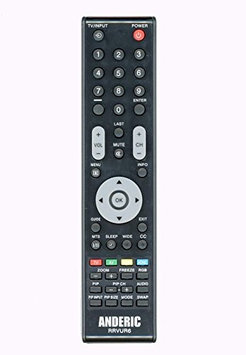 Anderic Replacement Vizio HDTV Remote Control for VUR5, VUR6, VUR9, VUR9m, NO Programming Required!