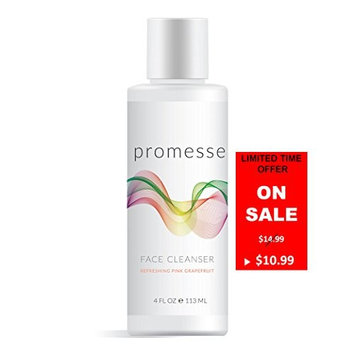 promesse daily facial cleanser and anti-aging face wash. A mild, foaming cleansing gel with Salicylic, Glycolic and Lactic acid combined. Natural scents of Rose, Lavender, Grapefruit and Peppermint [Grapefruit]