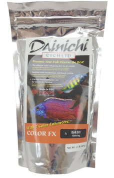 Dainichi Fish Food Dainichi Cichlid Food - Color FX Sinking Baby Pellet - 1.1 lbs