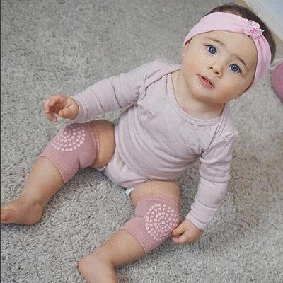 Unisex Baby Infant Toddler Soft Elastic Knee Elbow Brace Pads Cap Anti-slip Crawling Safety Protector Cushion Leg Sleeve Warmers