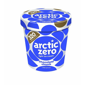 Pack of 6, Arctic Zero Light Ice Cream, Chocolate Chunk Pint [Chocolate Chunk Pint]