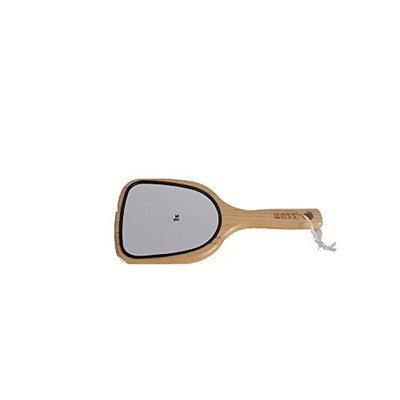 Large Wood Handle Dresser Mirror Bass Brushes 1 Mirror