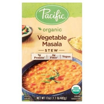 Pacific Foods Of Oregon, Inc. Pacific Foods, Soup Veg Masala Stew Org, 17 Oz (Pack Of 12)