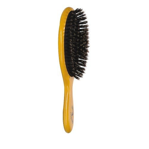 Brush Strokes Oval Cushion Boar Bristle Brush