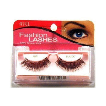 Ardell Fashion Lashes #105 Black (3-Pack) with Free Nail File