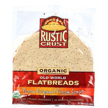 Rustic Crust Pizza Crust - Organic - Flatbreads - Pizza Originale - 13 oz - case of 8 - 95%+ Organic -