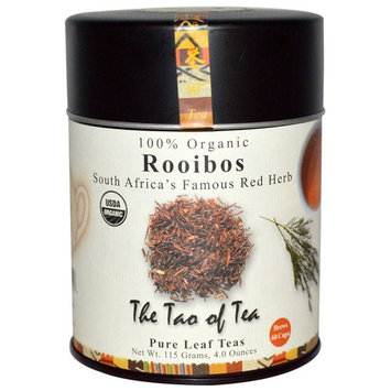 The Tao of Tea, 100% Organic Rooibos, South Africa's Famous Red Herb, 4.0 oz (115 g) [Flavor : South Africa's Famous Red Herb]