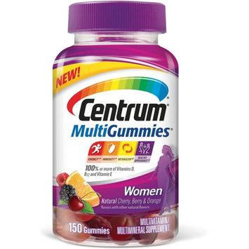 Centrum MultiGummies for Women Multivitamin/Multimineral Supplement Gummies 150 ea